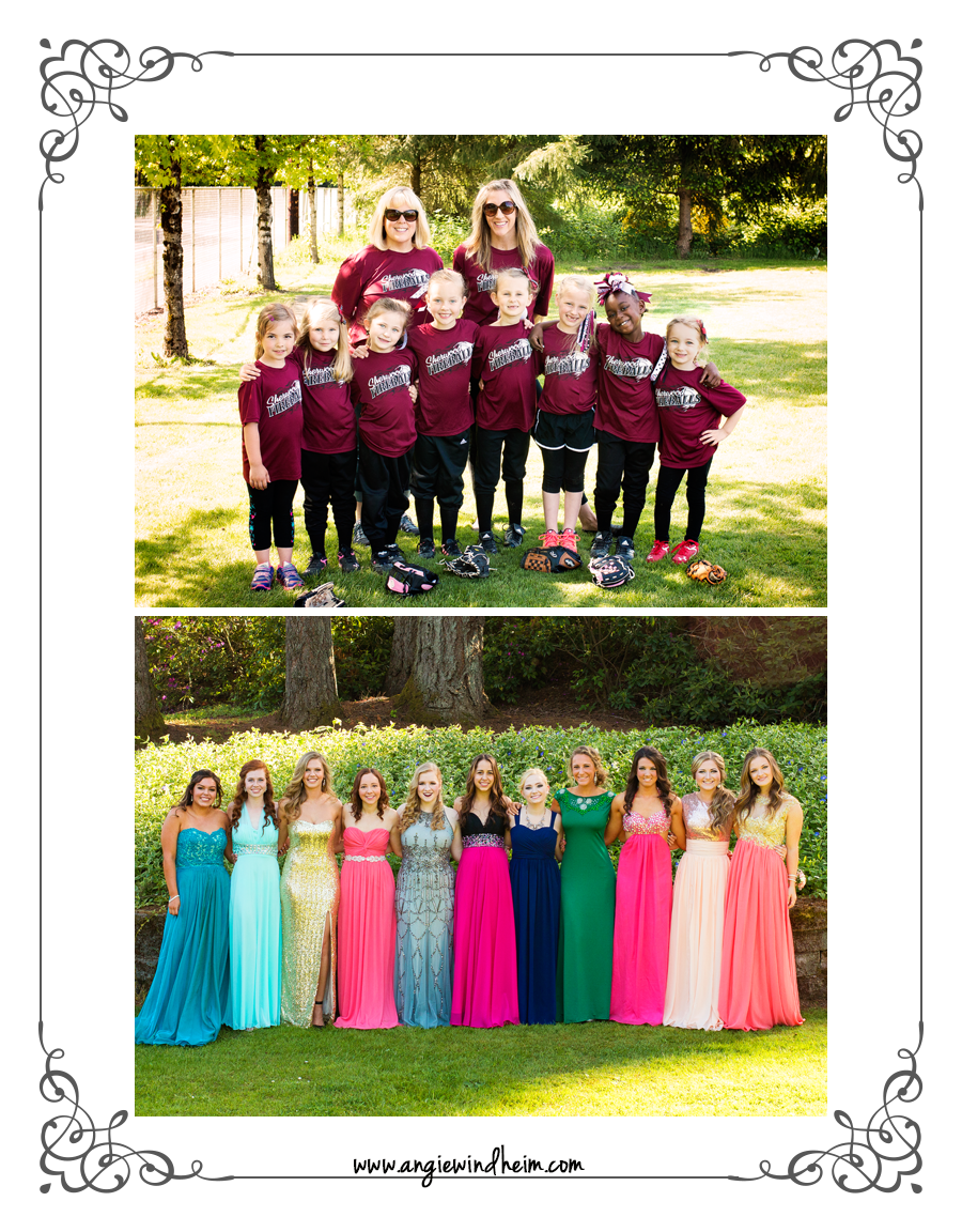 Sherwood T-ball and Prom
